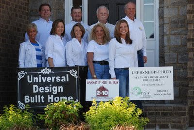 Swansons Murfreesboro Custom Home Builder team